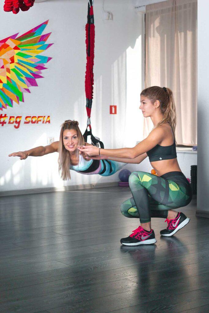 Бънджи фитнес (Bungee fitness) 5